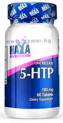 ХАЯ ЛАБС 5 - ХИДРОКСИТРИПТОФАН (5-HTP) TR таблетки 100 мг. * 60