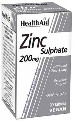 ЦИНКОВ СУЛФАТ - за здрава простата 200 мг * 90 таблетки