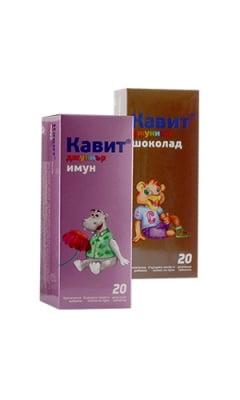 ПРОМО КАВИТ ДЖУНИЪР дъвчащи таблетки