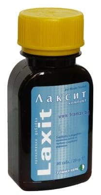 ЛАКСИТ улеснява дефекацията * 40таблетки, ТОШКОВ