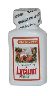 ЛИЦИЙ ЕКСТРАКТ капс. 500 мг. * 90