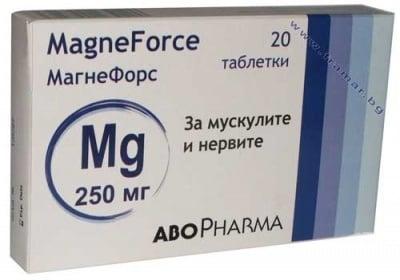 АБОФАРМА МАГНЕФОРС табл. 250 мг. * 20
