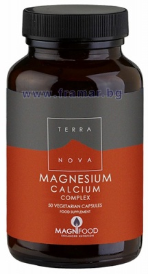 ТЕРАНОВА МАГНЕЗИЙ 250 мг. + КАЛЦИЙ 125 мг. КОМПЛЕКС капсули * 50