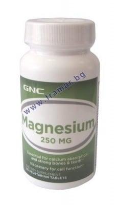 МАГНЕЗИЙ табл. 250 мг. * 90  GNC
