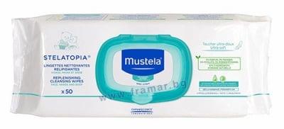 МУСТЕЛА - Stelatopia - мокри кърпи * 50