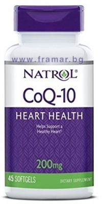 НАТРОЛ CO Q10 капсули 200 мг * 45