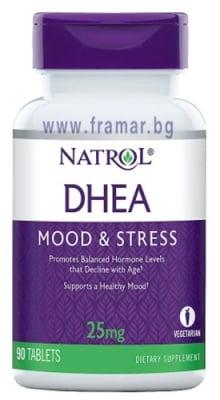НАТРОЛ DHEA (дехидроепиандростерон) таблетки 25 мг * 90