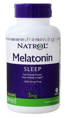 НАТРОЛ МЕЛАТОНИН таблетки 3 мг * 240