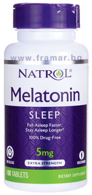 НАТРОЛ МЕЛАТОНИН TR табл. 5 мг. * 100