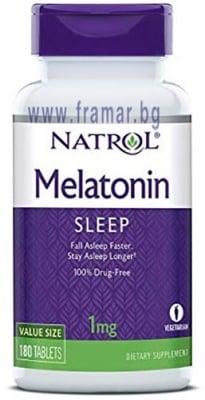 НАТРОЛ МЕЛАТОНИН таблетки 1 мг * 180