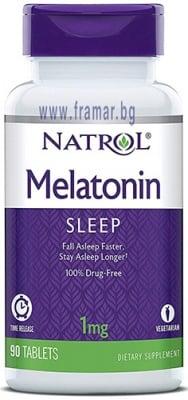 НАТРОЛ МЕЛАТОНИН таблетки 1 мг * 90