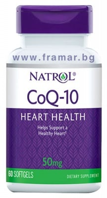 НАТРОЛ Co Q10 капсули 50 мг * 60
