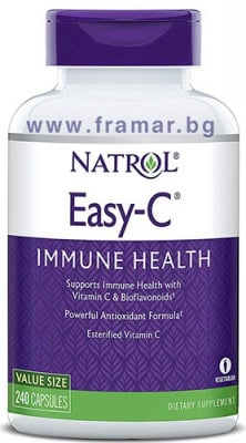 ИЗИ-C 500 мг - естерифициран витамин С * 120 капсули