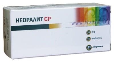 НЕОРАЛИТ SR  табл.  540 мг. * 60