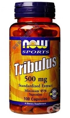 НАУ ФУДС ТРИБУЛУС капс. 500 мг. * 100