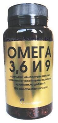 ОМЕГА 3-6-9 капсули * 180 РАМКОФАРМ