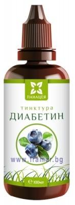 ПАНАЦЕЯ ТИНКТУРА ДИАБЕТИН 100 мл.