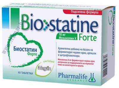 БИОСТАТИН ФОРТЕ таблетки * 60