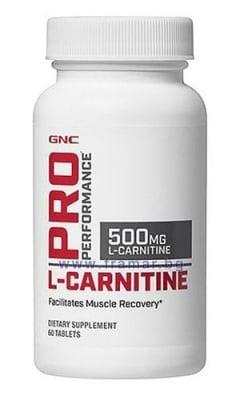 L - КАРНИТИН табл. 500 мг. * 60 GNC