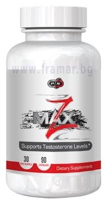 Z - МАКС - комбинацията от цинк, магнезий и витамин В6 * 90 капсули