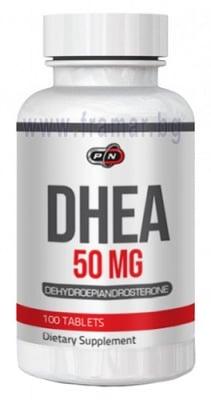 ДХЕА 50 мг - поддържа доброто сътояние на когнитивната функция * 100 таблетки