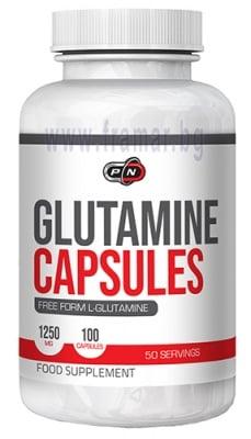 ГЛУТАМИН 1250 мг * 100 капсули