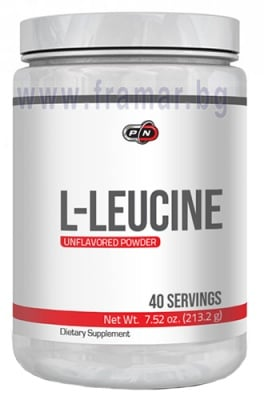 L - ЛЕВЦИН - стимулира синтеза на мускулни протеини - 213 гр.