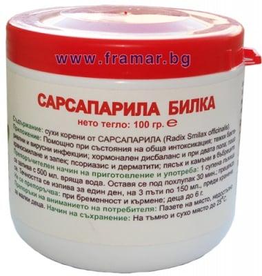 САРСАПАРИЛА КОРЕН 100 гр.