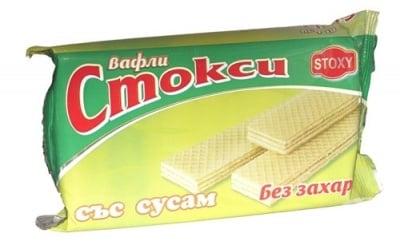 ВАФЛИ СТОКСИ  СЪС СУСАМ 160 гр.