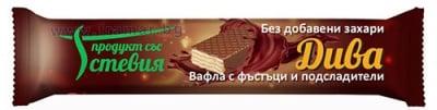 ВАФЛА ДИВА С ФЪСТЪЦИ 35 гр.