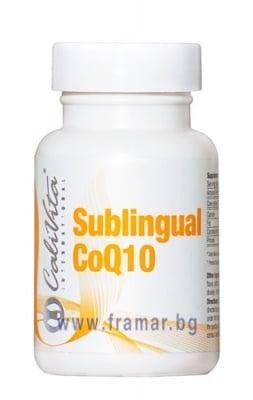 КАЛИВИТА КОЕНЗИМ Q10 сублингвални таблетки * 30