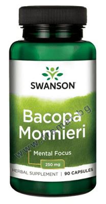 СУОНСЪН ЕКСТРАКТ ОТ БАКОПА МОНИЕРИ капсули 250 мг. * 90