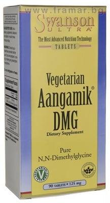 СУОНСЪН ДИМЕТИЛ ГЛИЦИН (DMG) ЗА ВЕГЕТАРИАНЦИ таблетки 125 мг. * 90