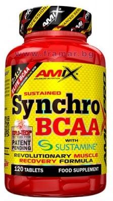 АМИКС СИНХРО BCAA + SUSTAMINE таблетки * 120
