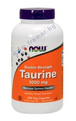 ТАУРИН 1000 мг * 250 капсули