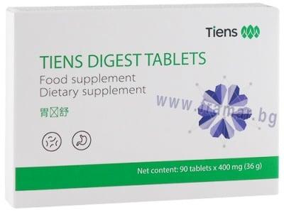 ДАЙДЖЕСТ таблетки за храносмилане * 90 TIENS