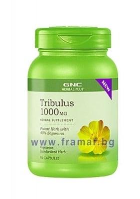 ТРИБУЛУС 1000 мг. * 90капсули, GNC