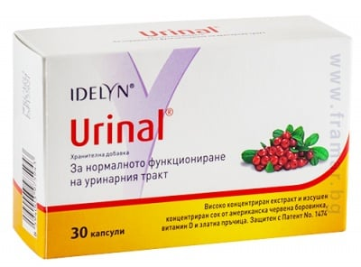 УРИНАЛ ИДЕЛИН капсули * 30 ВАЛМАРК