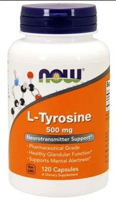 L-ТИРОЗИН 500 мг * 120 капсули