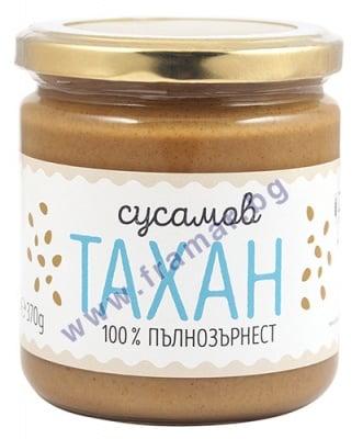 ЗОЯ СУСАМОВ ПЪЛНОЗЪРНЕСТ ТАХАН 370 гр.