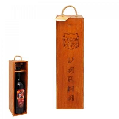 Кутия за бутилка вино /дърво/