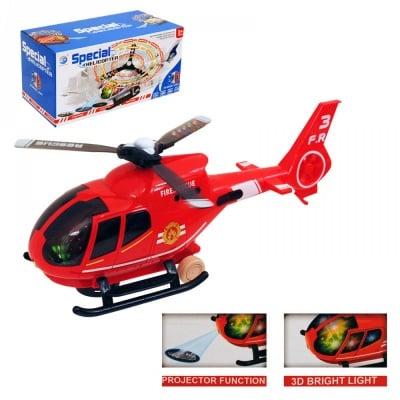 Хеликоптер с проектор и 3D светлини, COSMOPOLIS