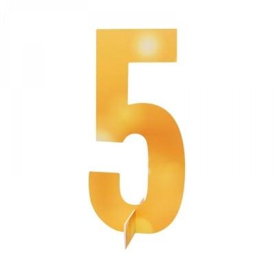 Настолна цифра № 5
