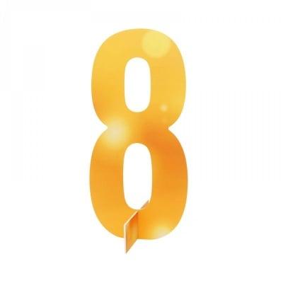 Настолна цифра № 8