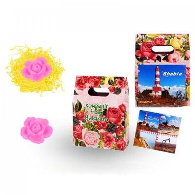 Подаръчна кутийка с магнит и сапунче