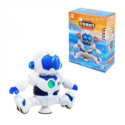 Музикален танцуващ робот /син/