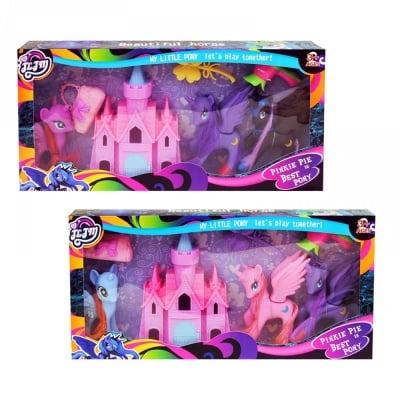 Комплект Замък с понита