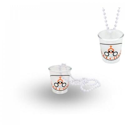 Чашка за шот с верижка -  WELCOM, COSMOPOLIS