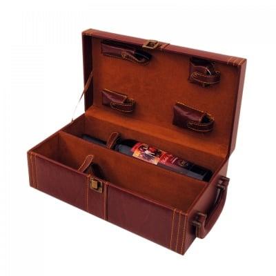 Кутия за 2 бутилки вино