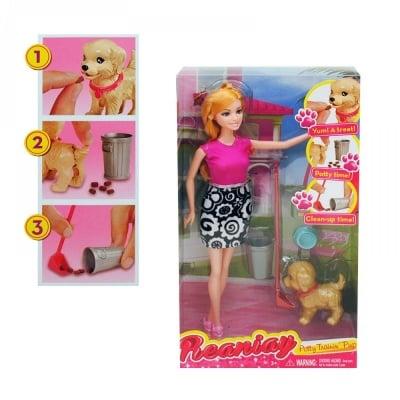Кукла с кученце и аксесоари